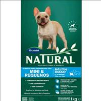 Ração Guabi Natural Cães Adultos Indoor Raças Mini e Pequenas - 7,5kg