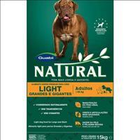 Ração Natural Cães Adultos Light Raças Grandes e Gigantes - 15kg