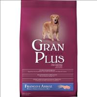 Ração Granplus Adulto Frango e Arroz - 15kg