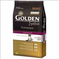 Ração Golden Gatos Adultos Castrados Frango - 10kg