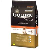 Ração Golden Gatos Adultos Castrados Salmão - 3kg