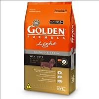 Ração Premier Golden Formula Cães Adultos Light Mini Bits Frango e Arroz - 10kg
