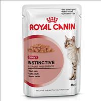 Ração Royal Canin Sachê Feline Instinctive para Gatos com idade acima de 12 meses - 85 g