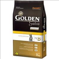 Ração Golden Gatos Adultos Frango - 3kg