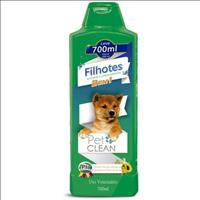 Shampoo e Condicionador Pet Clean 2 em 1 Filhotes - 700ml