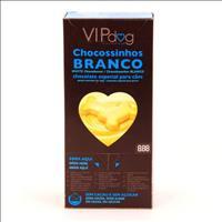 Chocolate Vipdog Chocossinhos Branco com 100 unidades - 400gr