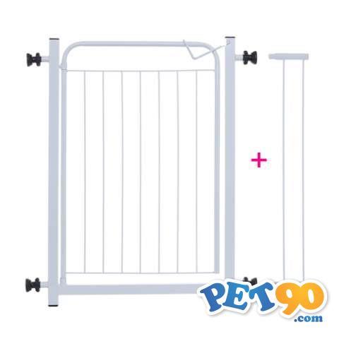 Portão De Proteção Para Cães + Extensor 10cm
