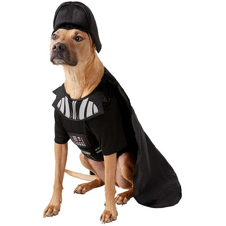 large dog costume - Darth Vader