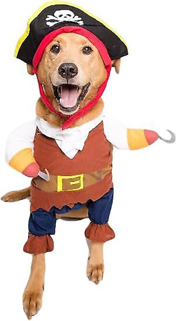 large dog costume - pirate