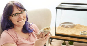 Video Colorist Chelsea Fernandez Shares Her Favorite Bearded Dragon Products