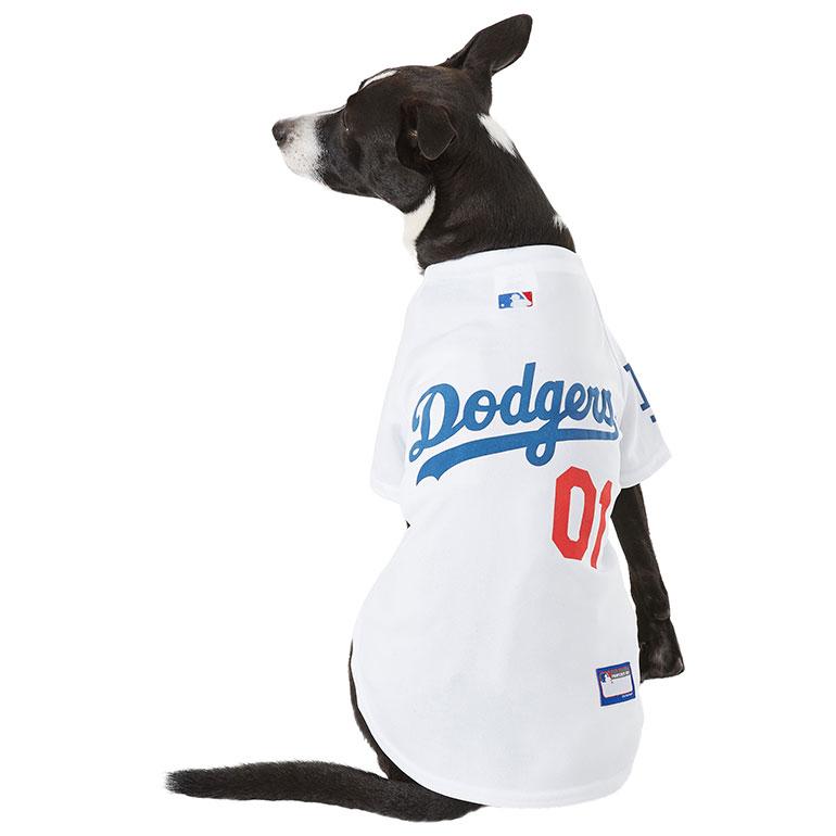 Dog halloween costumes - MLB jersey