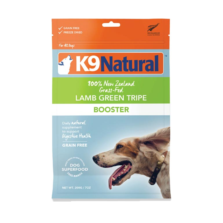 K9 Natural's Booster Freeze-Dried Dog Food Topper