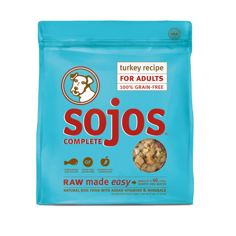 Sojos Complete Freeze-Dried Raw Dog Food