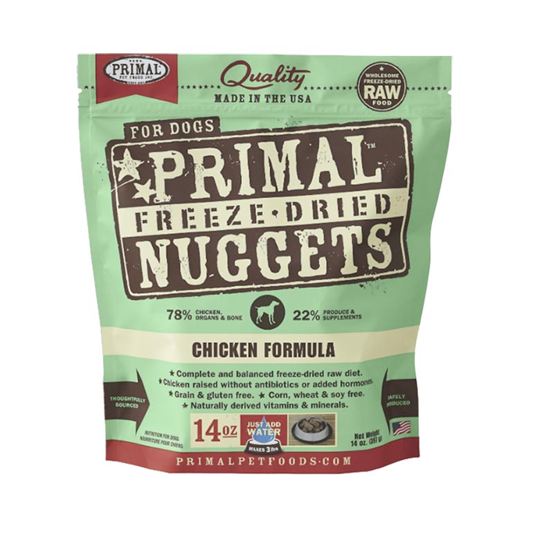 Primal's Raw Freeze-Dried Nuggets