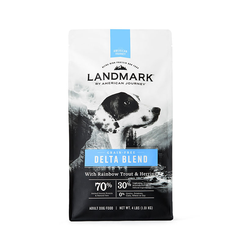 Landmark dog food - fish recipe