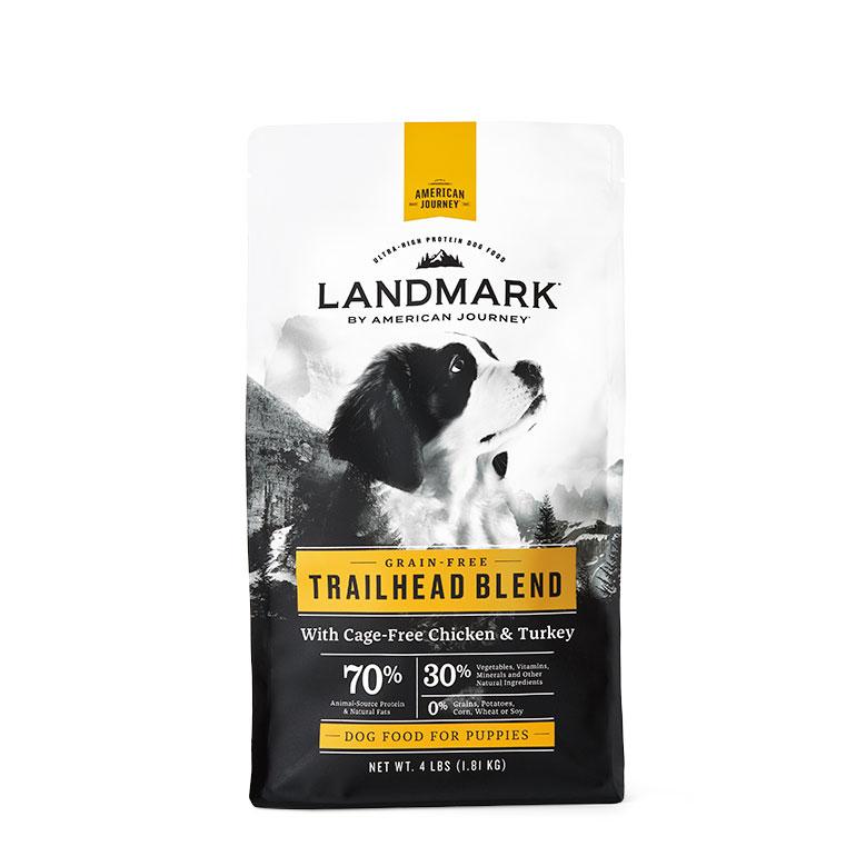 Landmark puppy food