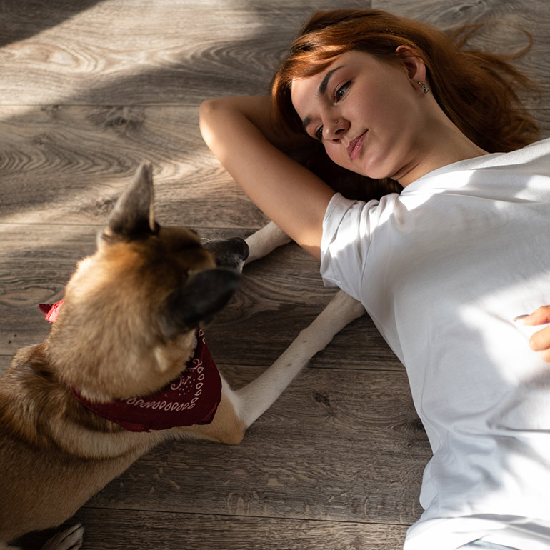 how do dogs benefit your mental health
