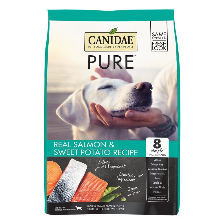 CANIDAE Grain-Free PURE Salmon & Sweet Potato Dry Dog Food
