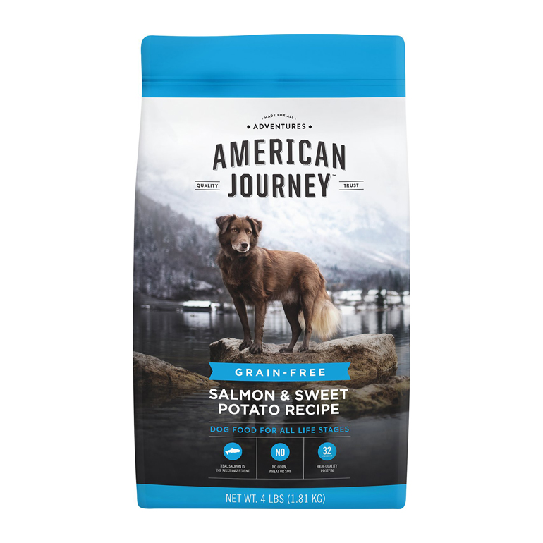 American Journey Salmon & Sweet Potato Grain-Free Dry Dog Food
