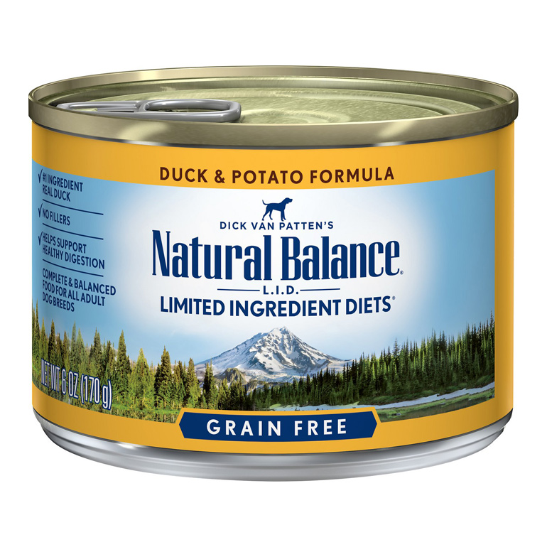 Natural Balance L.I.D. Duck & Potato Grain-Free Canned Dog Food