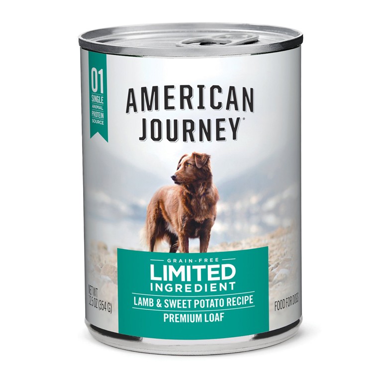American Journey L.I.D. Lamb & Sweet Potato Grain-Free Canned Dog Food