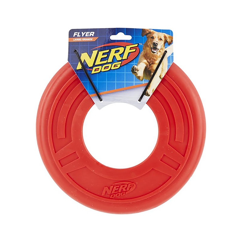 dog water toys - Nerf Flyer