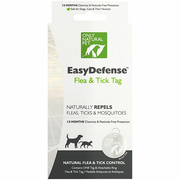 flea and tick treatment for cats  easydefense tag