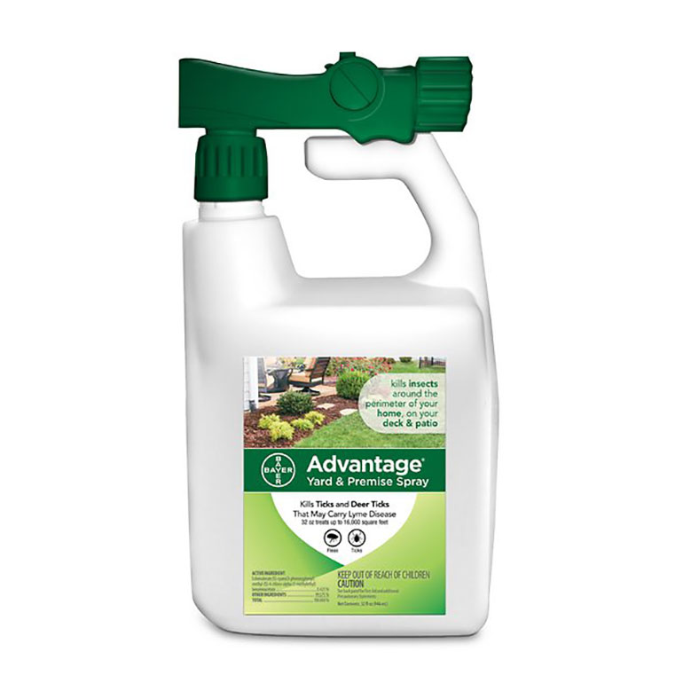 Flea and Tick Treatments for Cats advantage yard spray