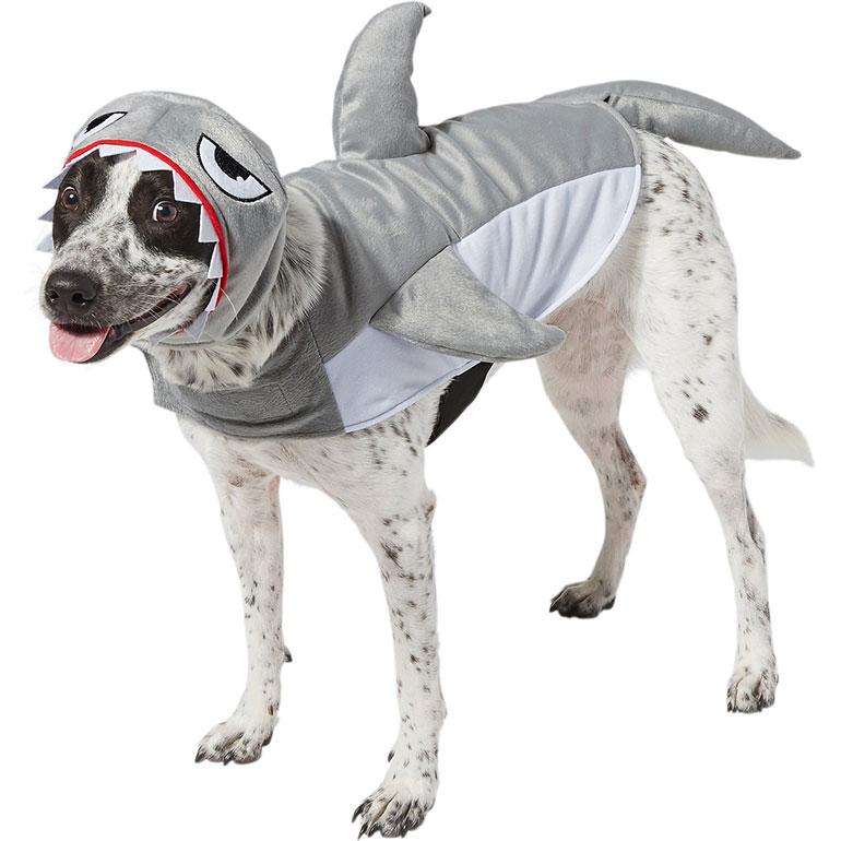 large dog halloween costumes - shark image