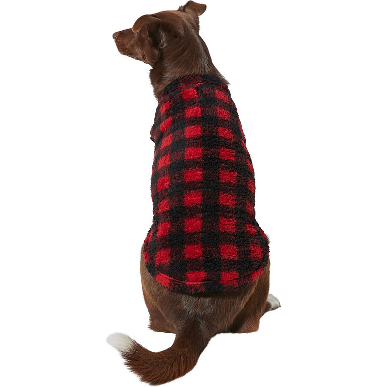 cute dog clothes for fall - plaid dog vest