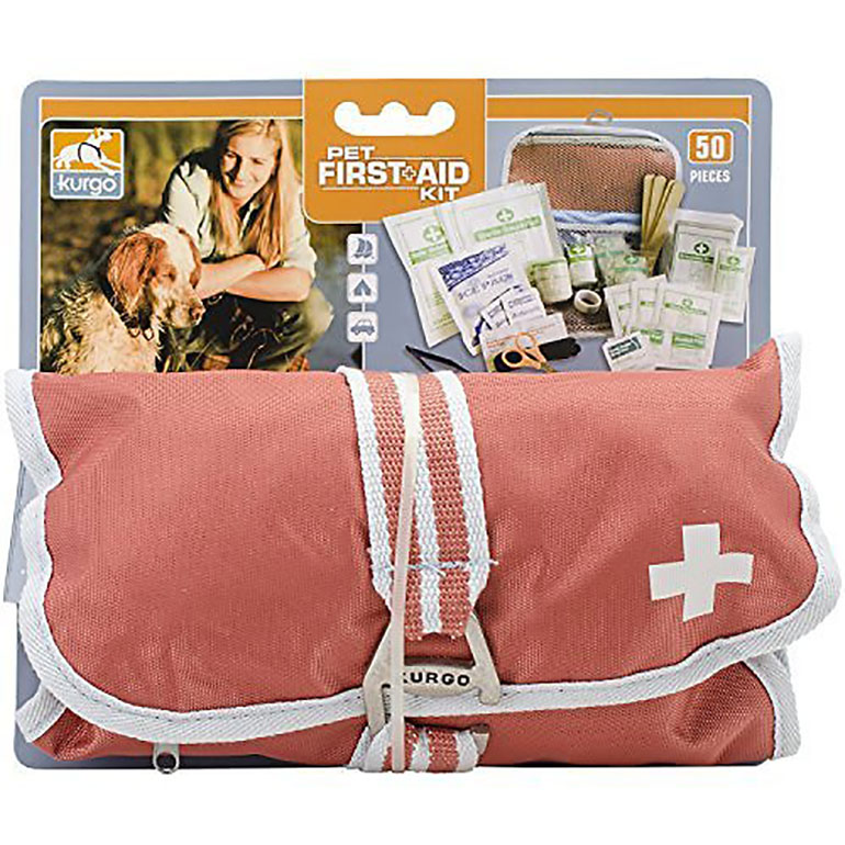 dog camping accessories - dog first aid kit