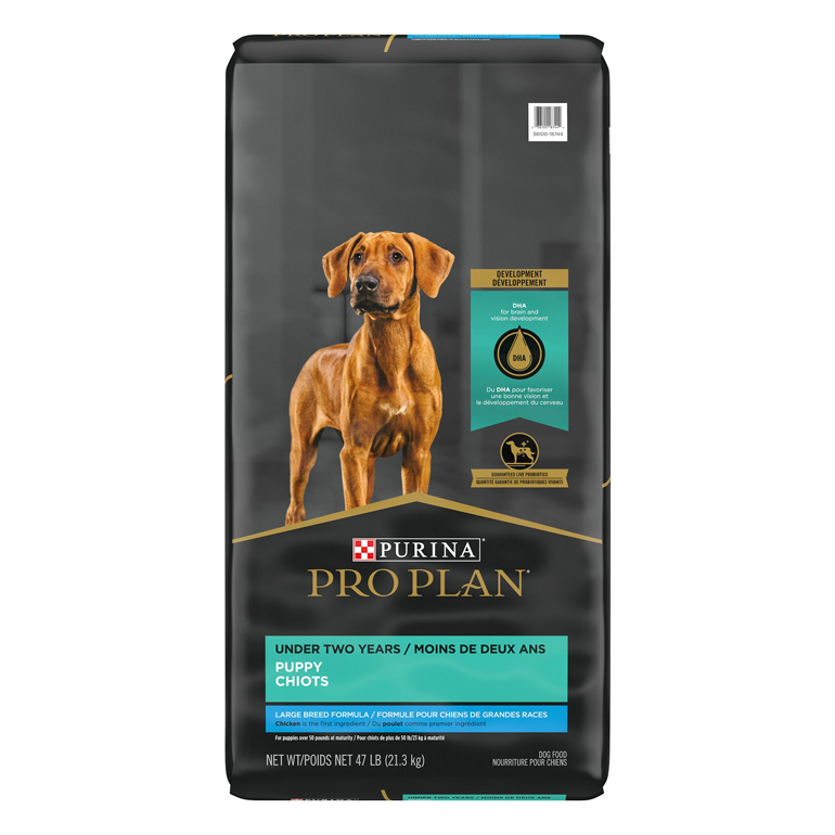 Purina Pro Plan large breed puppy food
