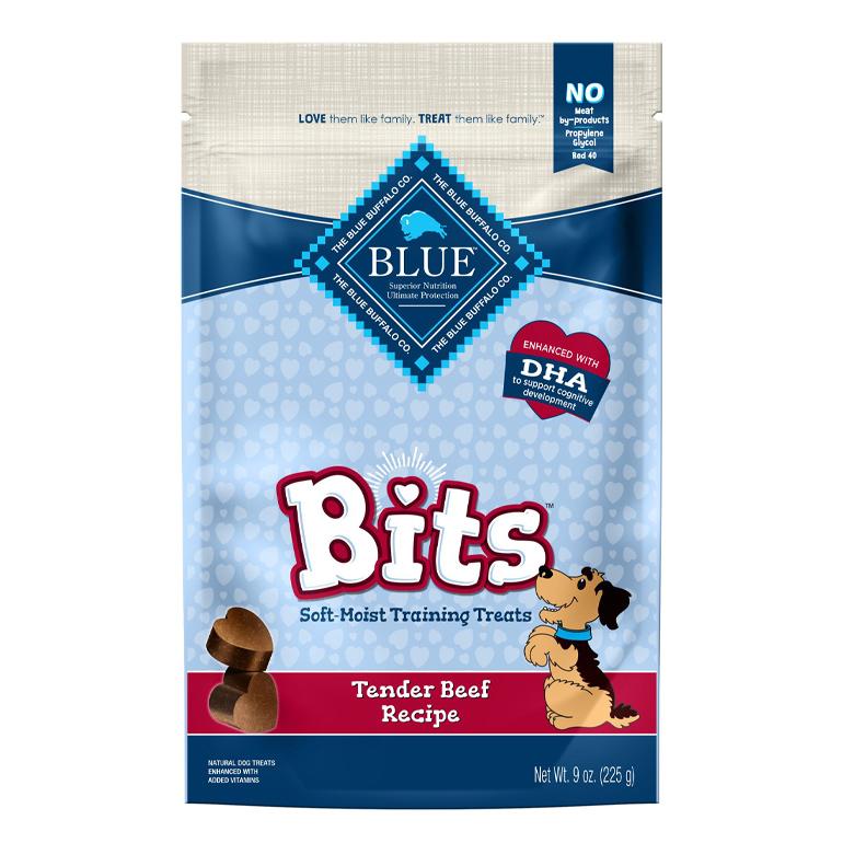 Blue Buffalo training dog treats