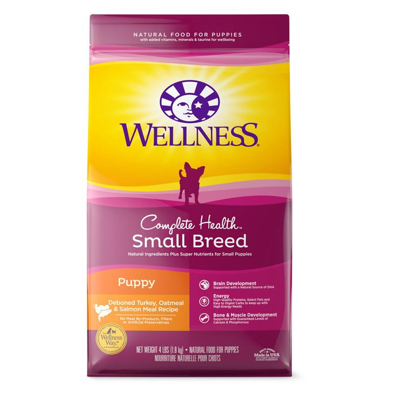 Wellness small breed puppy food