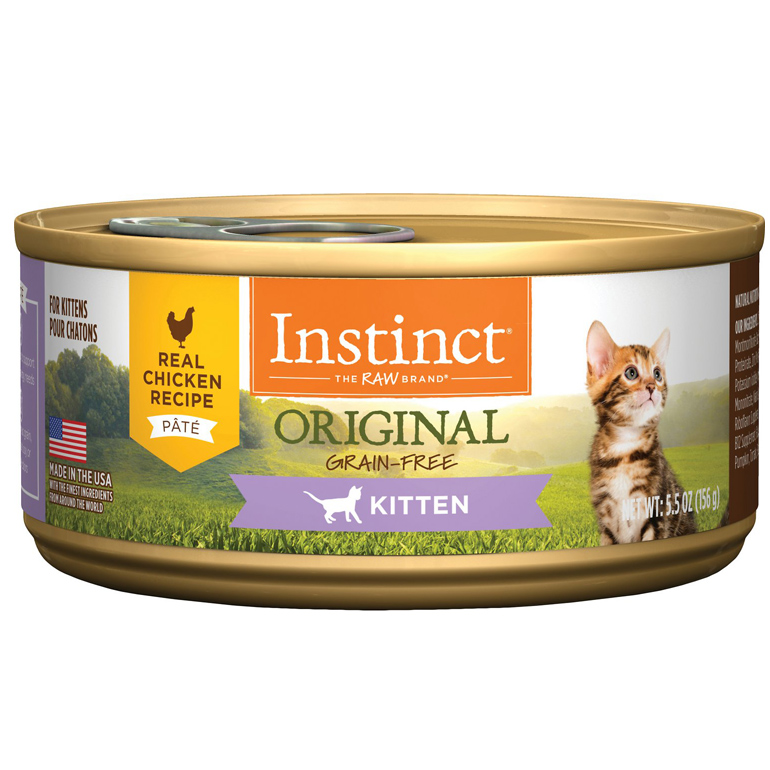 Instinct wet kitten food