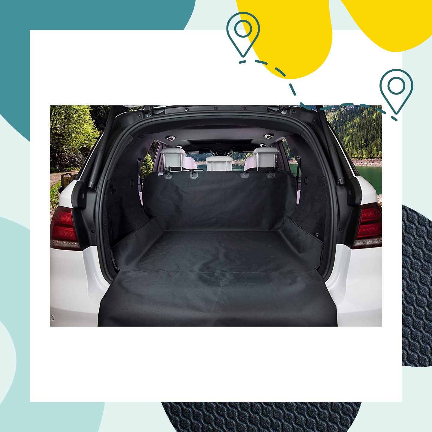 best dog car seat covers - dog cargo liners