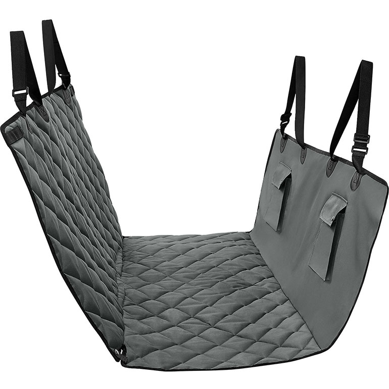 best dog car seat covers - frisco hammock style dog car seat cover