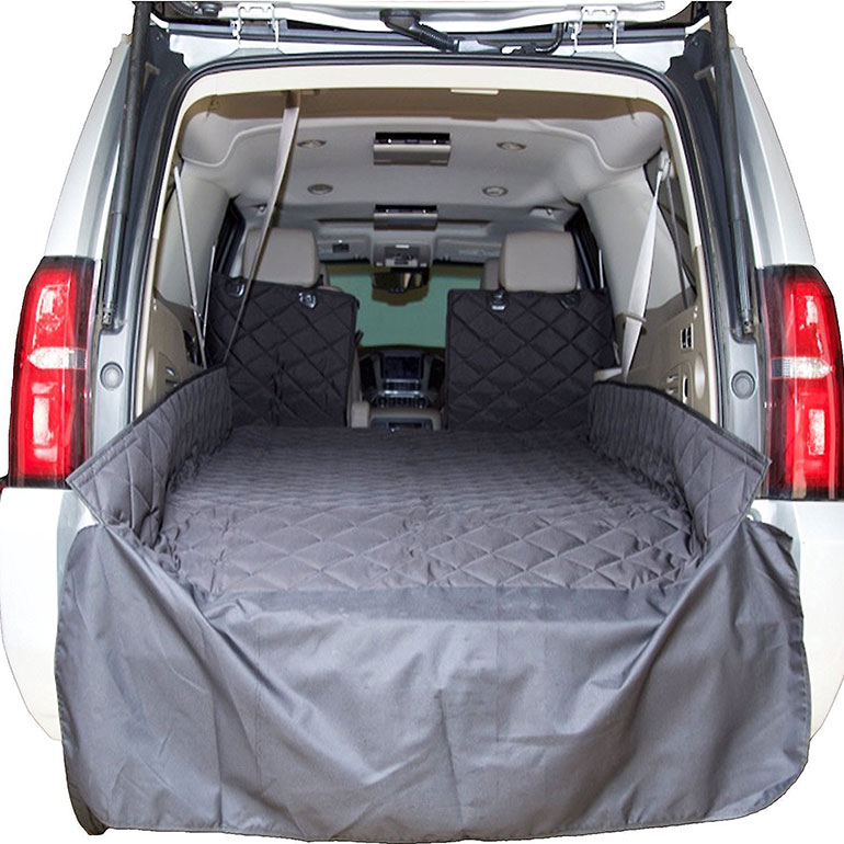dog cargo liner -plush paws