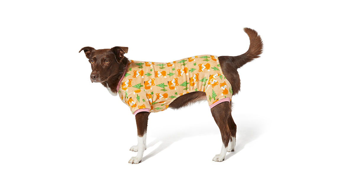 fashion for dogs and cats - fox pajamas