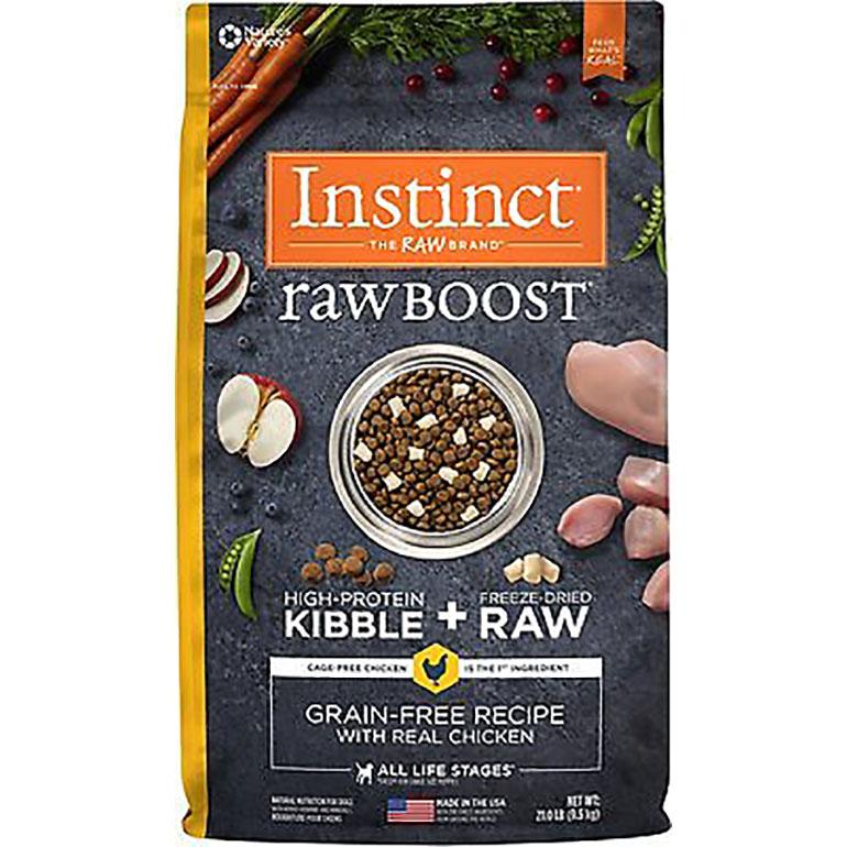 premium kibble - Instinct