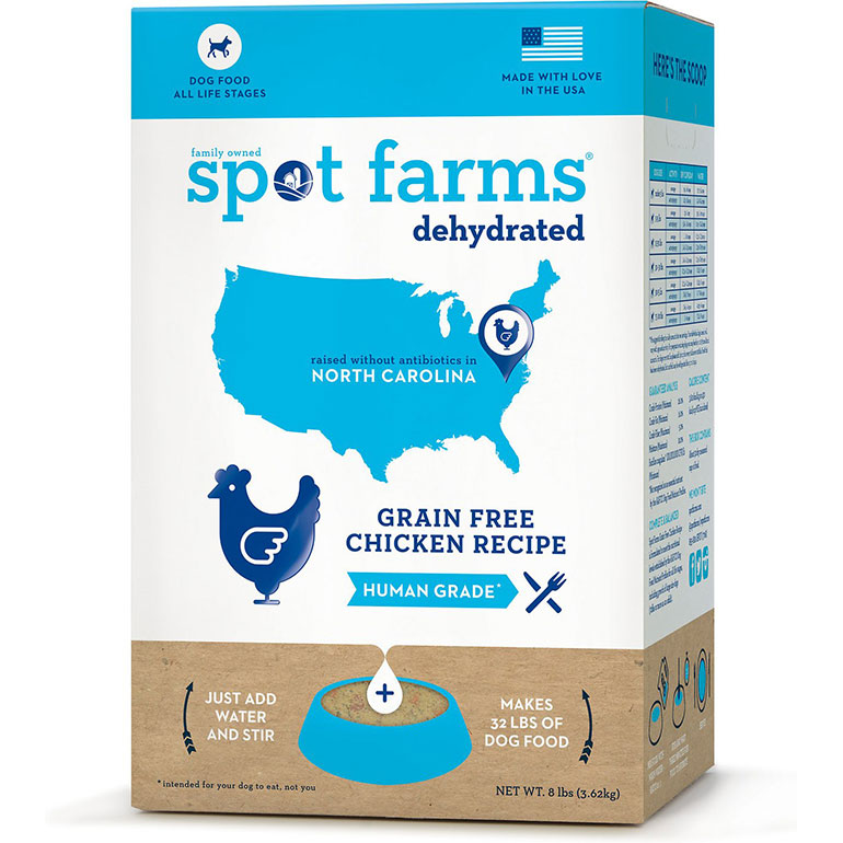 human grade dog food - spot