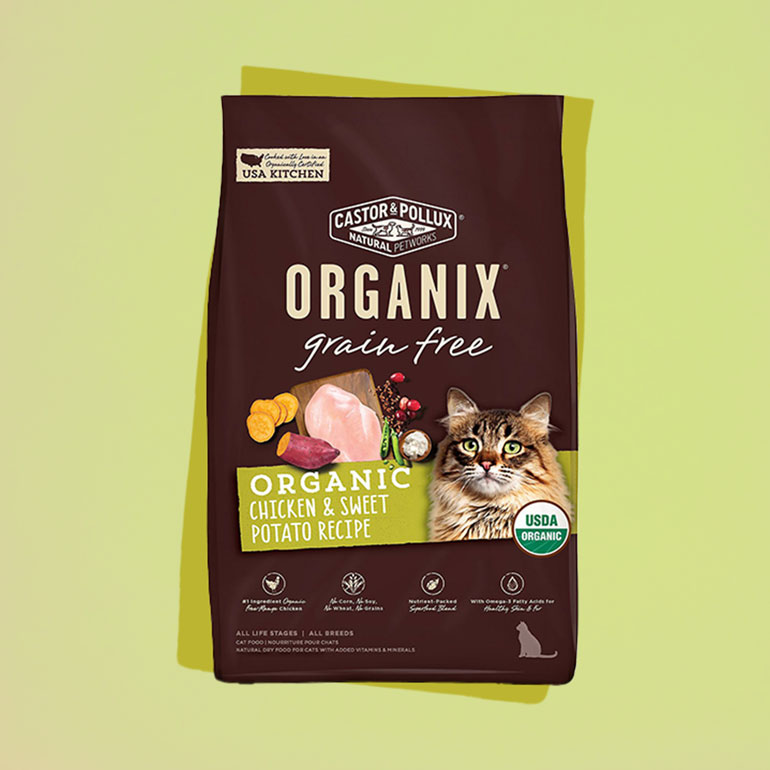 high quality organic cat food