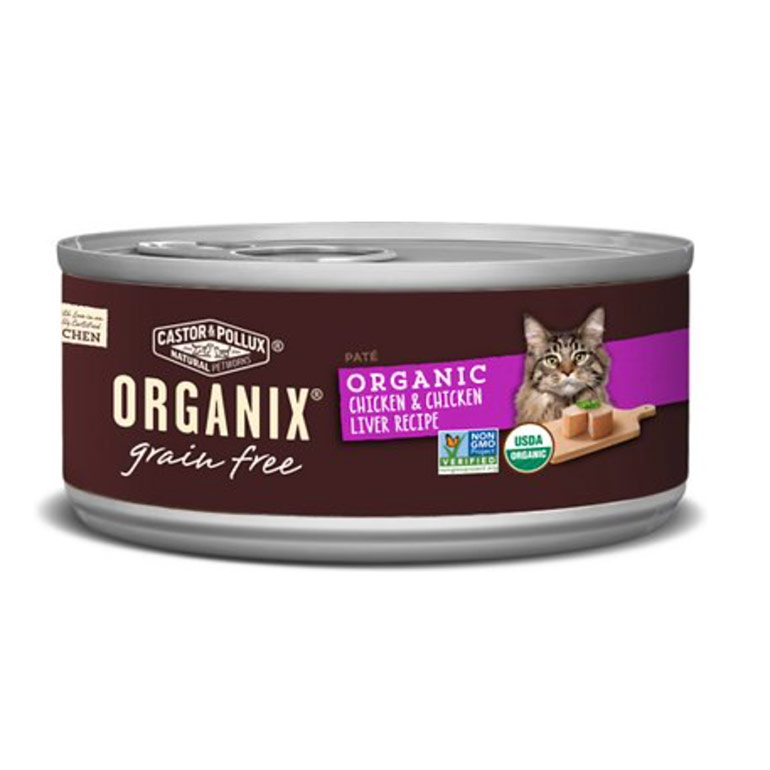 organic cat food - castor and pollux