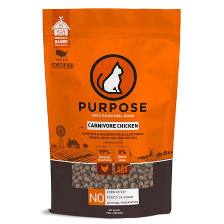 organic cat food - purpose