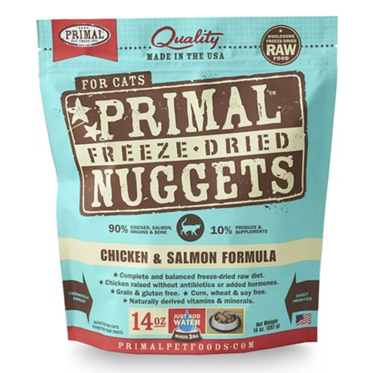 grain free cat food - primal