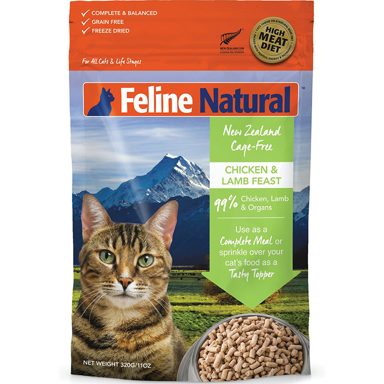 freeze dried cat food -feline natural