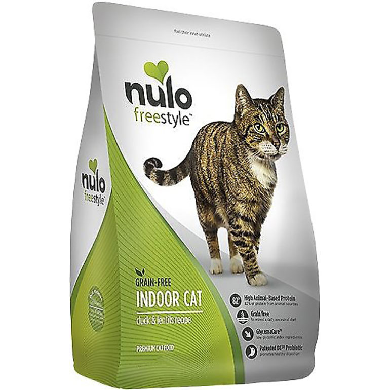 Nulo Freestyle Duck & Lentils Recipe Grain-Free Indoor Dry Cat Food