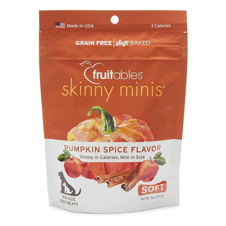Fruitables pumpkin dog treats