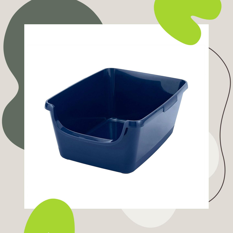 best cat litter box - litter pan
