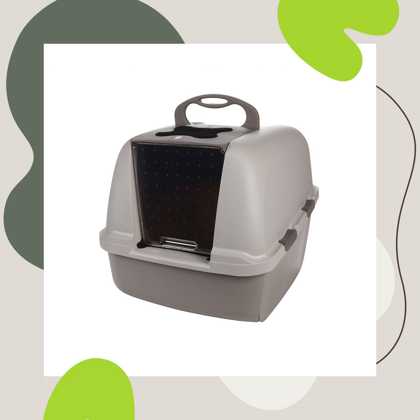 best cat litter box - enclosed or covered cat litter box